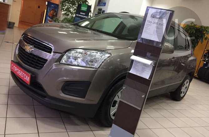 фотографии Chevrolet Tracker