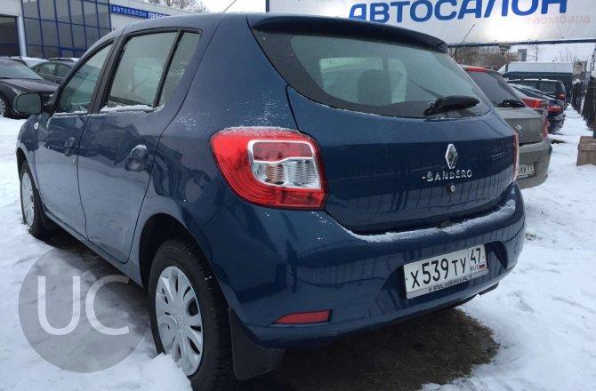 подержанный авто Renault Sandero 2014 года