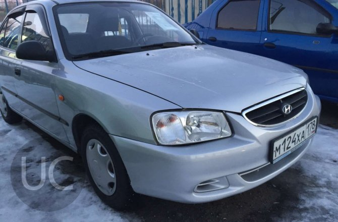 подержанный авто Hyundai Accent 2006 года