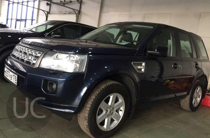 подержанный авто Land Rover Freelander 2012 года