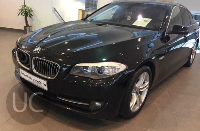 подержанный авто BMW 5 series 2013 года
