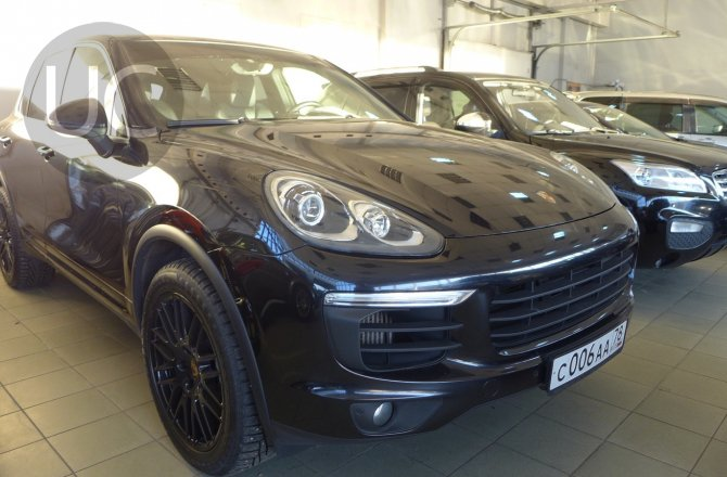 объявление о продаже Porsche Cayenne 2015 года