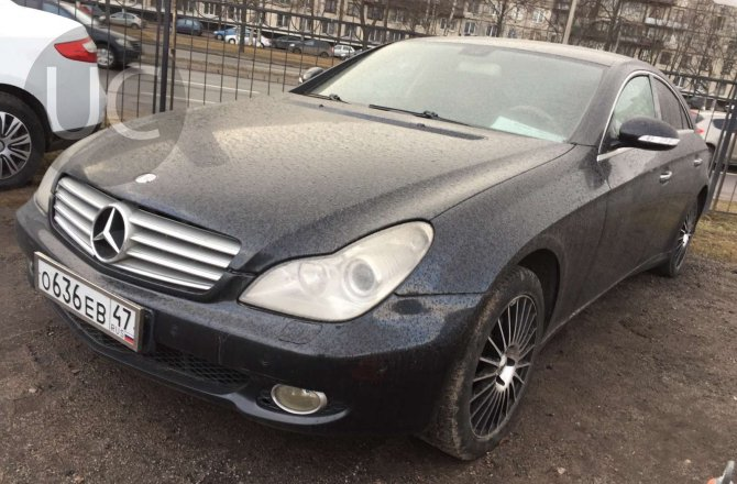объявление о продаже Mercedes-Benz CLS-Class 2005 года