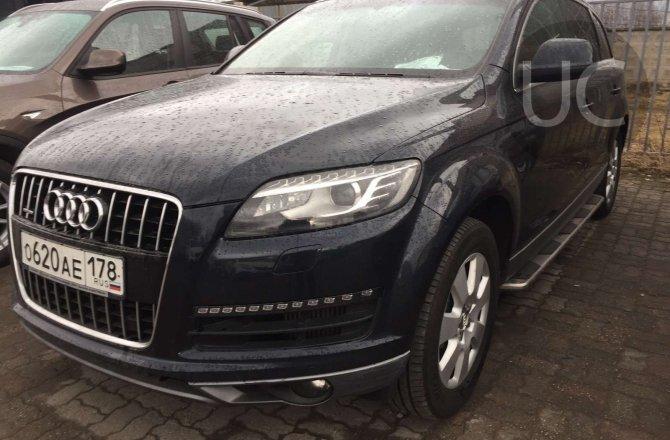 фотографии Audi Q7