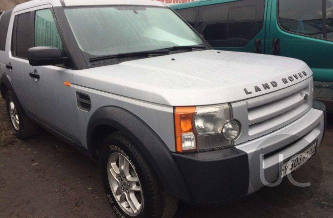 подержанный авто Land Rover Discovery 2007 года