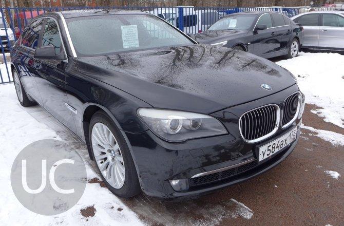 купить BMW 7 series с пробегом, 2012 года