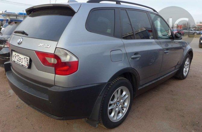 объявление о продаже BMW X3 2004 года