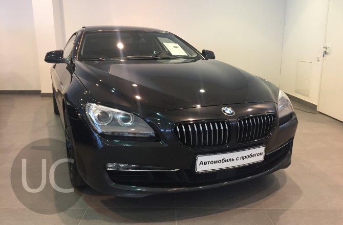 подержанный авто BMW 6 series 2012 года