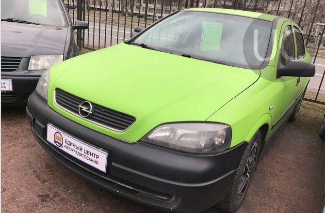 подержанный авто Opel Astra 2003 года