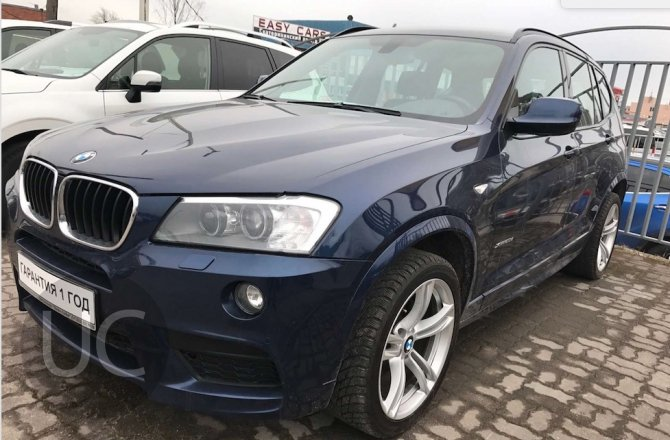 фотографии BMW X3