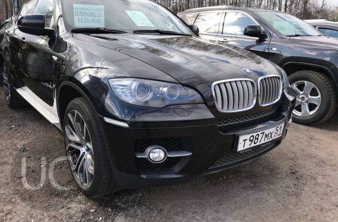 подержанный авто BMW X6 2009 года