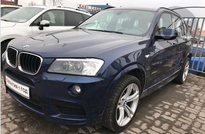 объявление о продаже BMW X3 2012 года
