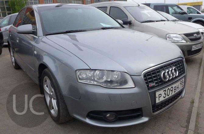 объявление о продаже Audi A4 2007 года