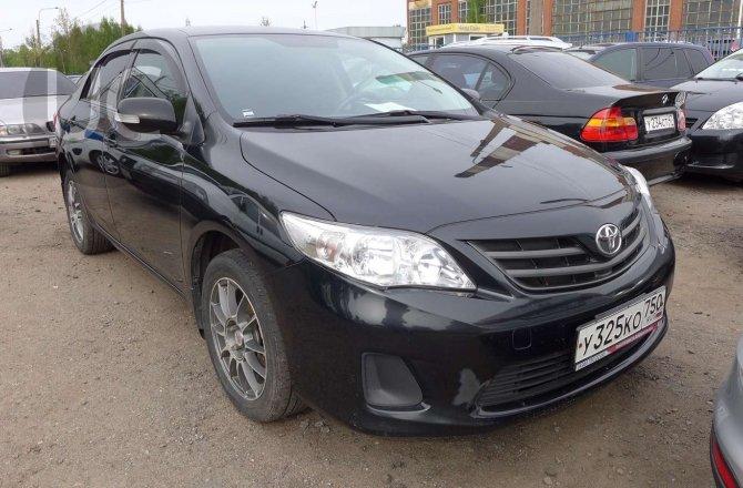 подержанный авто Toyota Corolla 2012 года