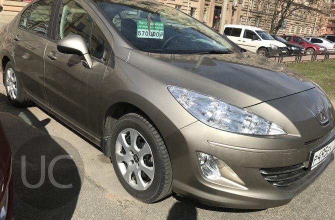 объявление о продаже Peugeot 408 2014 года