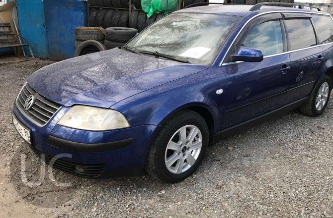 подержанный авто Volkswagen Passat 2002 года