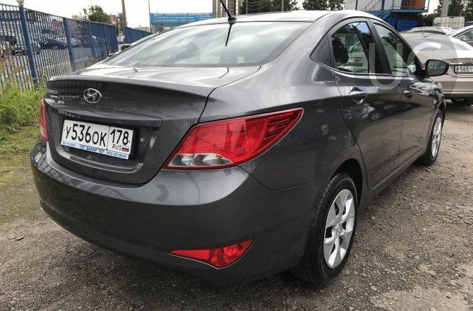 объявление о продаже Hyundai Solaris 2016 года