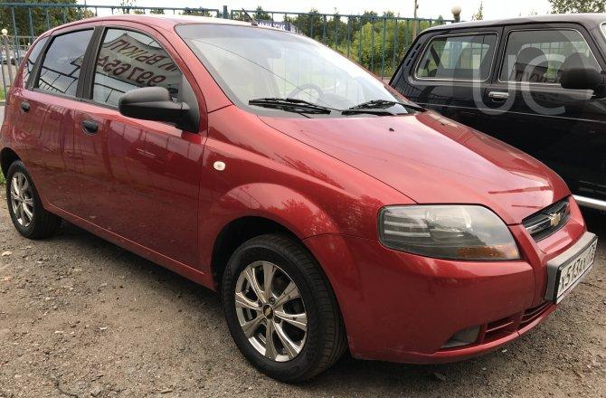 подержанный авто Chevrolet Aveo 2007 года