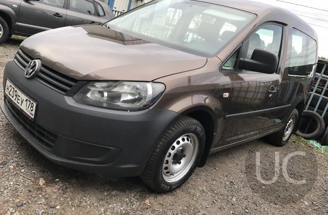 купить б/у автомобиль Volkswagen Caddy 2012 года