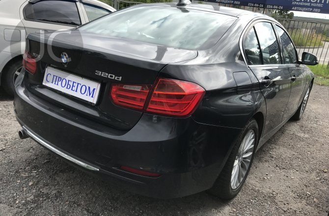 объявление о продаже BMW 3 series 2013 года