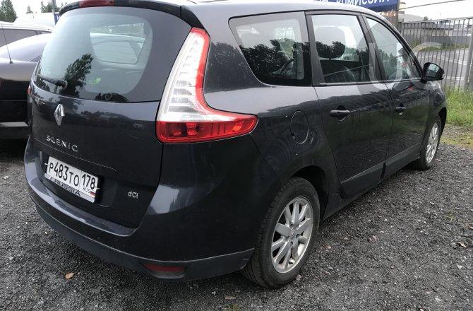 объявление о продаже Renault Scenic 2009 года