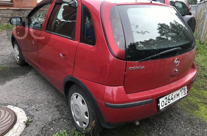 подержанный авто Opel Corsa 2004 года