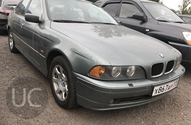 объявление о продаже BMW 5 series 2002 года