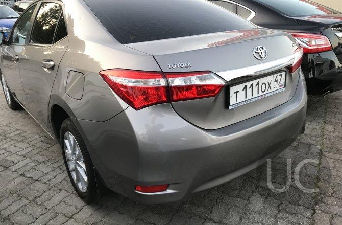 объявление о продаже Toyota Corolla 2014 года