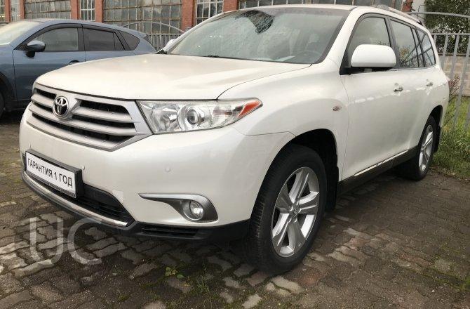 объявление о продаже Toyota Highlander 2012 года