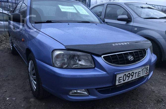 подержанный авто Hyundai Accent 2004 года