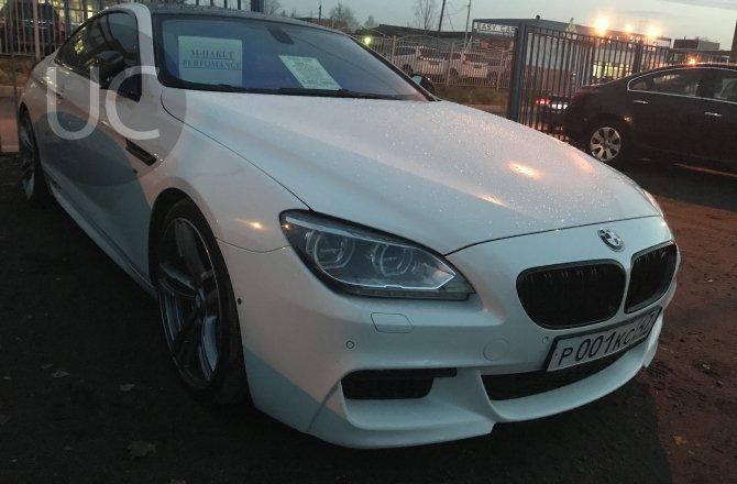 подержанный авто BMW 6 series 2011 года