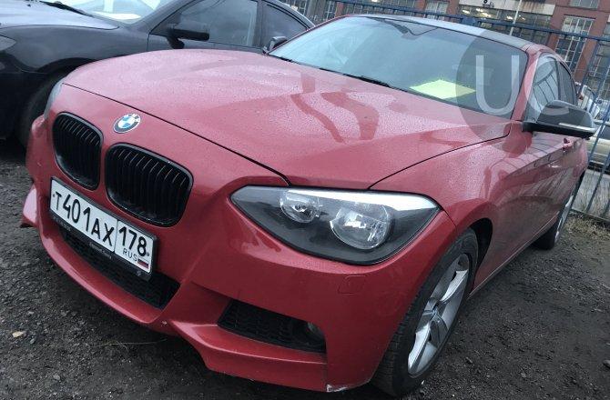 подержанный авто BMW 1 series 2013 года