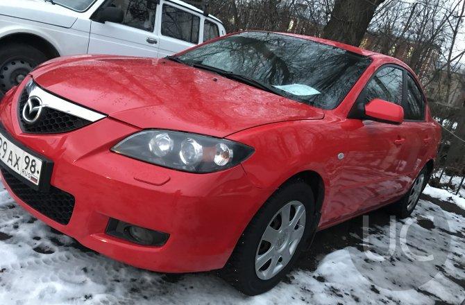 подержанный авто Mazda 3 2007 года