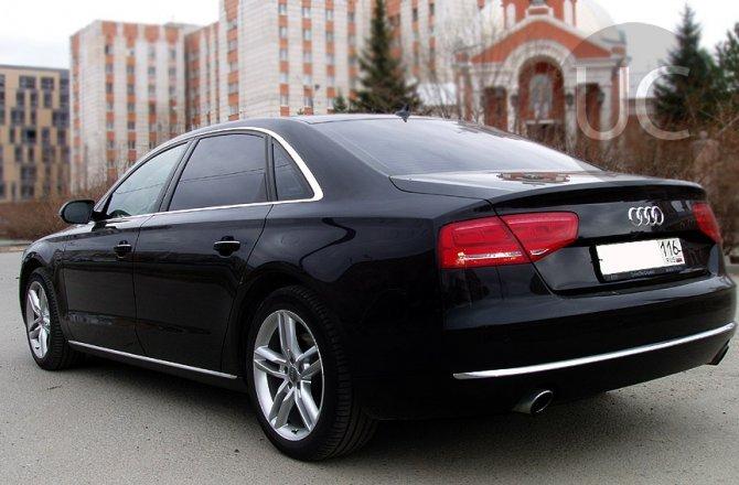 объявление о продаже Audi A8 2012 года