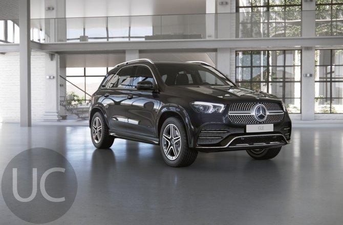 подержанный авто Mercedes-Benz GLE-class 2020 года
