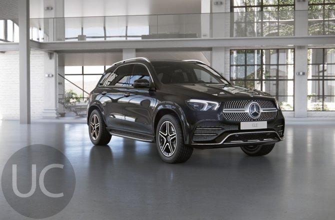 подержанный авто Mercedes-Benz GLE-class 2021 года