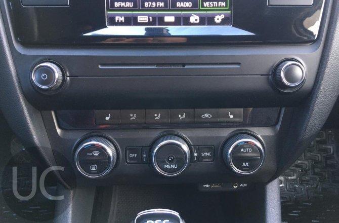 подержанный авто Skoda Octavia 2015 года