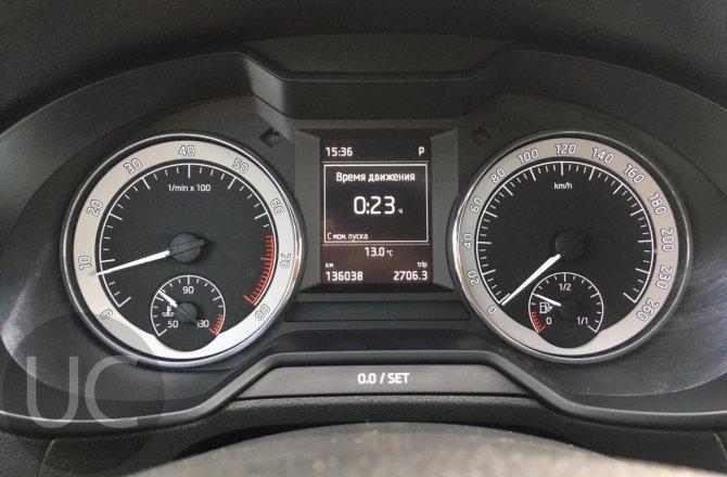 подержанный авто Skoda Octavia 2016 года