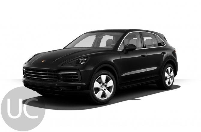 подержанный авто Porsche Cayenne 2021 года