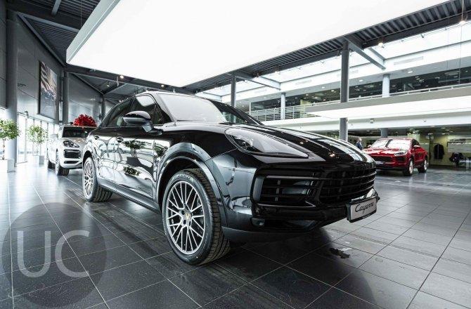 объявление о продаже Porsche Cayenne 2021 года
