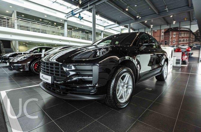 подержанный авто Porsche Macan 2021 года