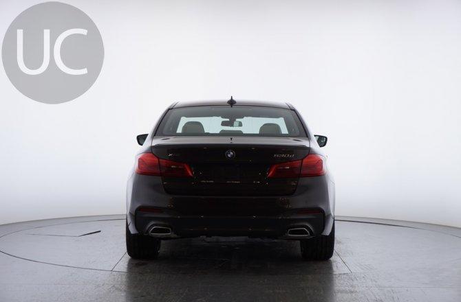 объявление о продаже BMW 5 series 2020 года