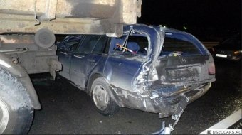 ВИДЕО. Огромный американский тягач-лесовоз проехал сквозь 14 автомобилей