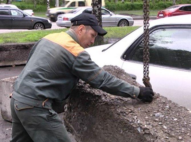 Борьба с неправильными парковками