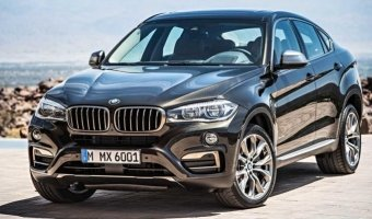 Краткий обзор второго поколения люксового кроссовера BMW X6