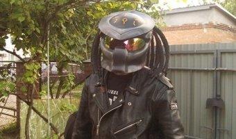 Фото-отчет о создании шлема «Хищник» практически с нуля