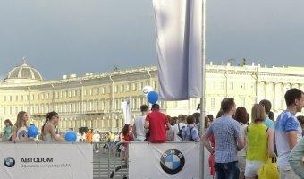 Белые ночи с BMW