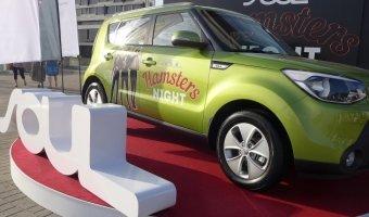 В Aurora Concert Hall на вечеринке Hamsters Night петербуржцам представили обновленный автомобиль Kia Soul