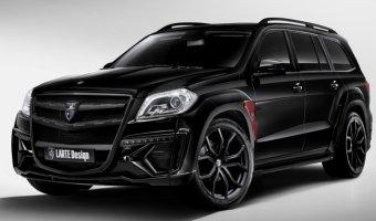 Larte Design представляет комплект тюнинга «Black Crystal» для автомобиля  Mercedes-Benz GL-Класса