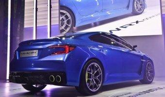Subaru 2015 WRX будет агрессивным хищником